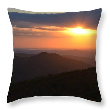 Throw Pillow featuring the photograph Hope Is Like The Sun by Melanie Moraga