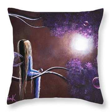 Hope Is On The Other Side Of Tears By Shawna Erback Throw Pillow by Shawna Erback