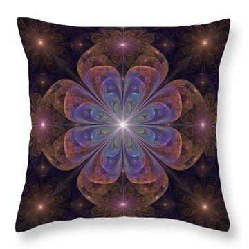 Throw Pillow featuring the digital art Hope by Kim Redd