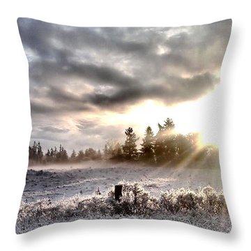Hope - Landscape Version Throw Pillow