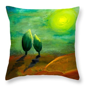 Hope Throw Pillow by Nirdesha Munasinghe