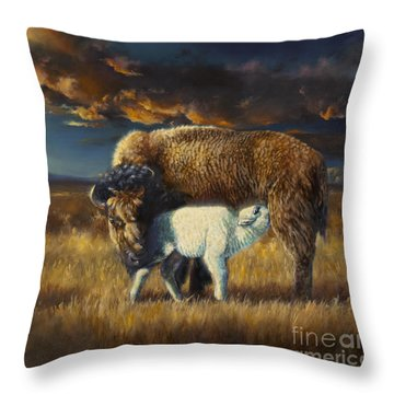 Hope Of A Nation Throw Pillow