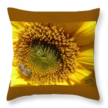 Hopeful - Signed Throw Pillow