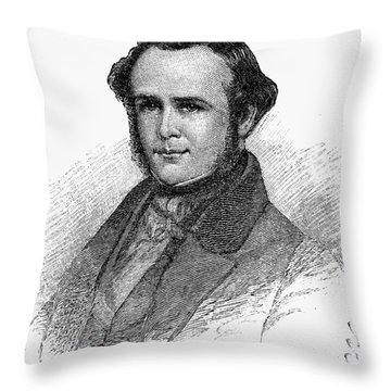 Horace Wells (1815-1848) Throw Pillow by Granger