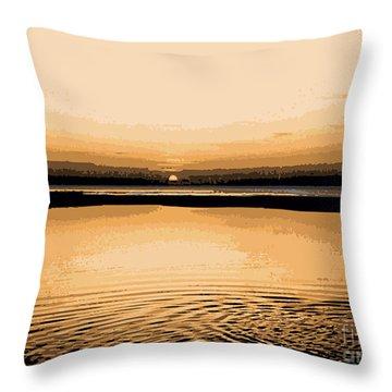 Horizon 3 Throw Pillow