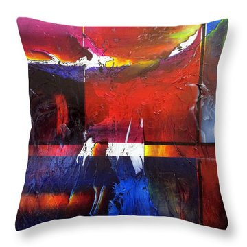 Horizons II Throw Pillow