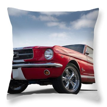 Just Horsin' Around Throw Pillow