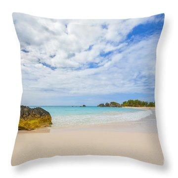 Horseshoe Bay Throw Pillow by Verena Matthew