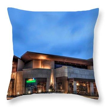 Horseshoe Casino Cincinnati Throw Pillow