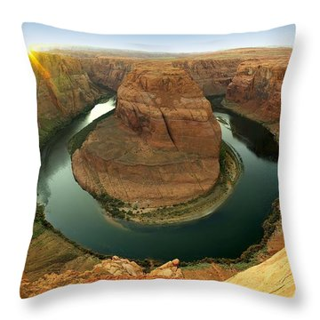 Horseshoe Throw Pillow