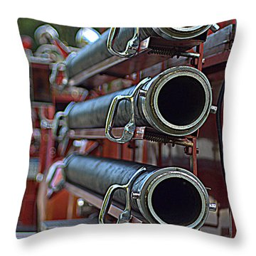 Hoses #2 Throw Pillow