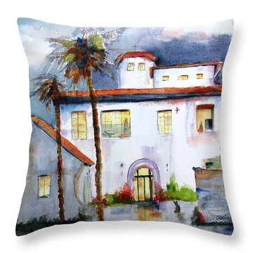 Hospitality House Throw Pillow