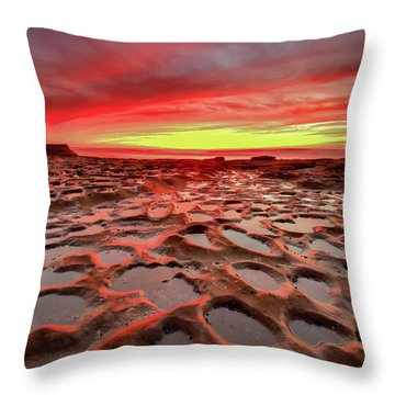 Hospitals Reef Throw Pillow
