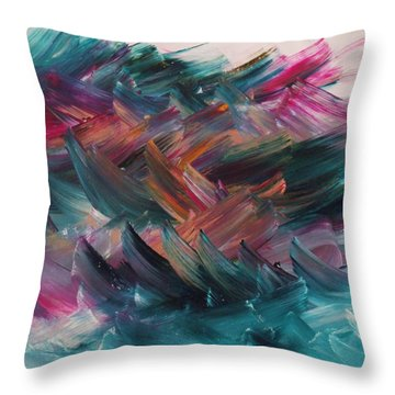 Host Of Hosts Throw Pillow