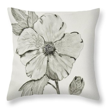 Hot Biscuit Throw Pillow