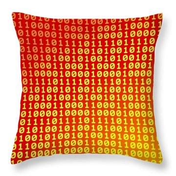 Hot Bits Throw Pillow by Gaspar Avila