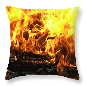 Hot Pillow Throw Pillow