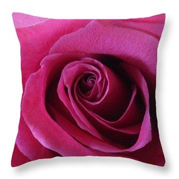 Hot Pink II Throw Pillow by Anna Villarreal Garbis