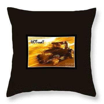 Throw Pillow featuring the photograph Hot Rod by Jim Tillman