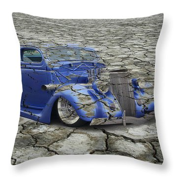 Hot Rod Mirage Throw Pillow by Steve McKinzie