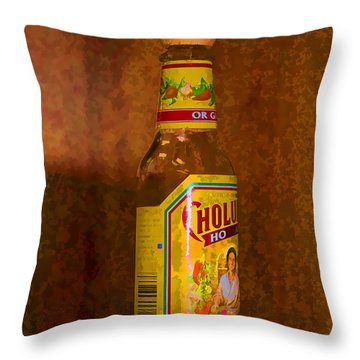 Hot Sauce Two Throw Pillow