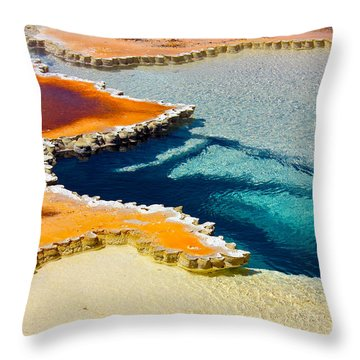 Hot Spring Perspective Throw Pillow