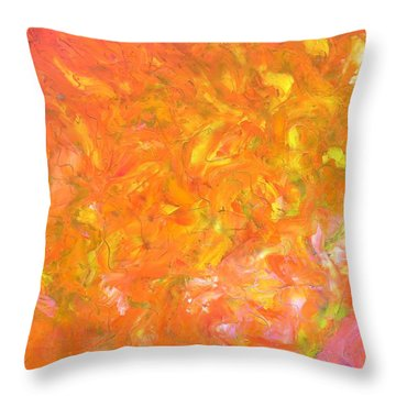 Hot Summer Throw Pillow