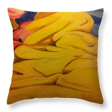Hot Summer Night Throw Pillow