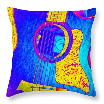 Throw Pillow featuring the photograph Hot Taylor by Shelia Kempf