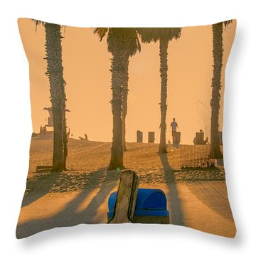 Hotel California Throw Pillow