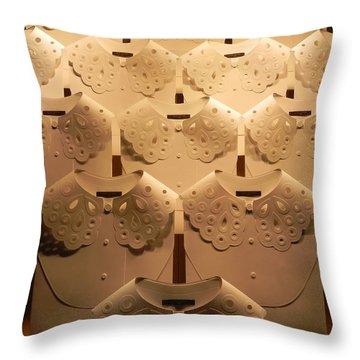 Louis Vuitton Window Display Throw Pillow