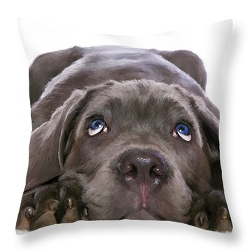 Hound Throw Pillow