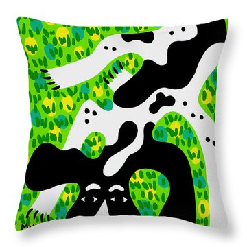 Houndog Throw Pillow