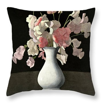 House And Garden Interior Decoration Number Throw Pillow