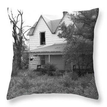 House At The End Of The Street Throw Pillow