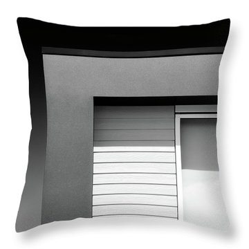 House Corner Throw Pillow by Dave Bowman
