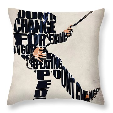 House Md - Dr. Gregory House Throw Pillow by Ayse Deniz