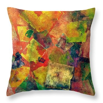 House Of Cards Throw Pillow