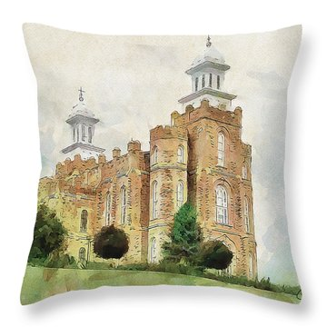 House Of Defense Throw Pillow by Greg Collins