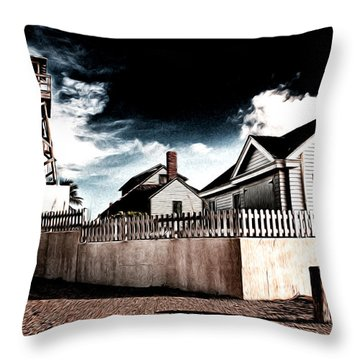 House Of Refuge Throw Pillow by Bill Howard