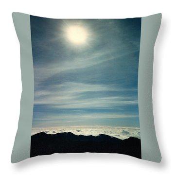 House Of The Sun Throw Pillow