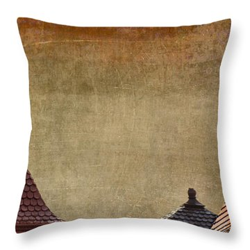 House Of Time Throw Pillow