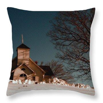 House Of Worship Throw Pillow