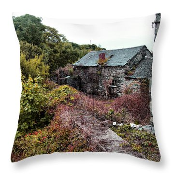 House On A River Throw Pillow by Doc Braham