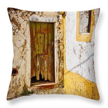 House Ruin Throw Pillow