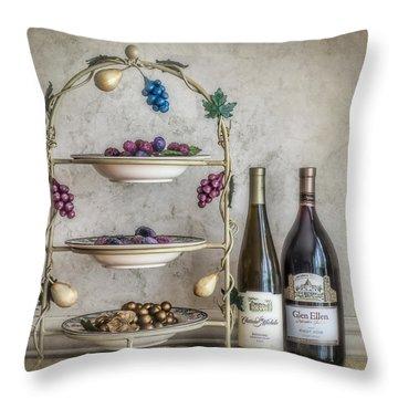 House Wine Throw Pillow