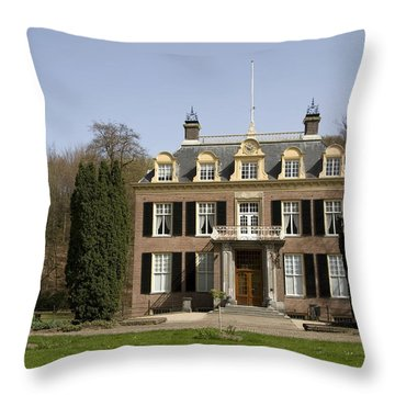 House Zypendaal In Arnhem Netherlands Throw Pillow by Ronald Jansen