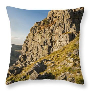 Housey Crags Throw Pillow