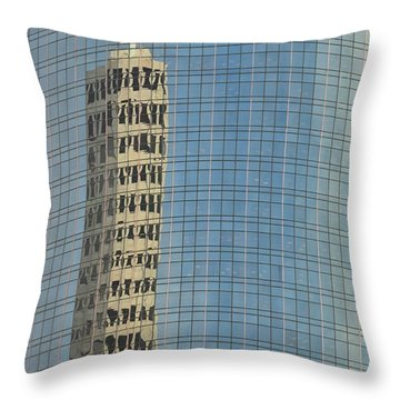 Houston 1 Throw Pillow