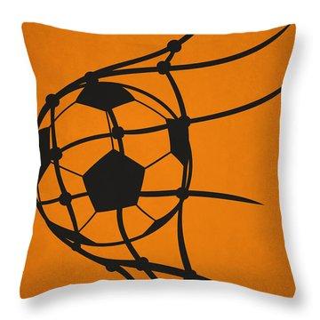 Houston Dynamo Goal Throw Pillow